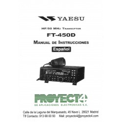 Manual de Instrucciones FT-450D
