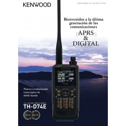 Walkie VHF/UHF bibanda Kenwood TH-D74E