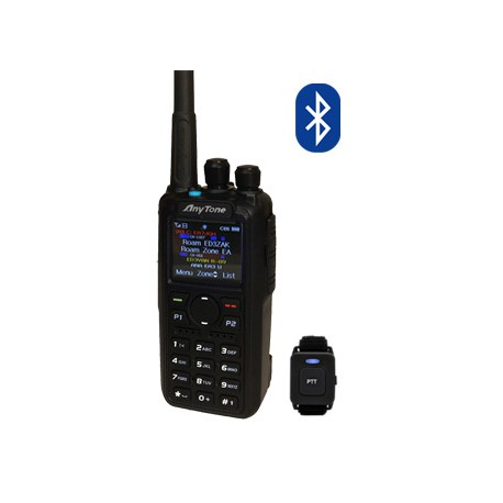 Walkie Bibanda Anytone AT-D878UV Plus con Bluetooth